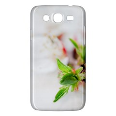 Fragility Flower Petals Tenderness Leaves  Samsung Galaxy Mega 5 8 I9152 Hardshell Case  by amphoto