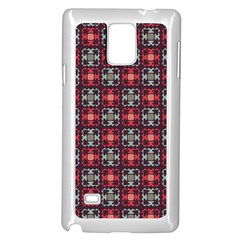 Cells White Black Gray  Samsung Galaxy Note 4 Case (white) by amphoto