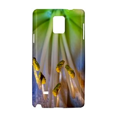 Flower Petals Stamens Samsung Galaxy Note 4 Hardshell Case by amphoto