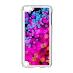 Colorful Community Glare Bright  Apple Ipod Touch 5 Case (white) by amphoto