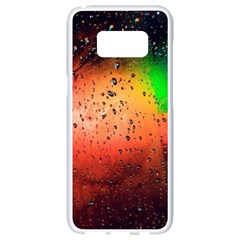 Cool Rush 4k Abstract Wallpapers Samsung Galaxy S8 White Seamless Case by amphoto