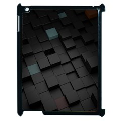 Blackcubes  Apple Ipad 2 Case (black) by amphoto