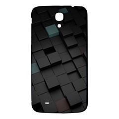 Blackcubes  Samsung Galaxy Mega I9200 Hardshell Back Case by amphoto
