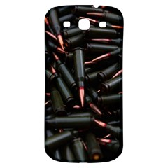 Bullets Ammunition Guns  Samsung Galaxy S3 S Iii Classic Hardshell Back Case by amphoto