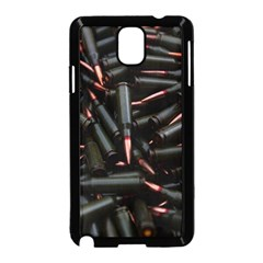 Bullets Ammunition Guns  Samsung Galaxy Note 3 Neo Hardshell Case (black) by amphoto