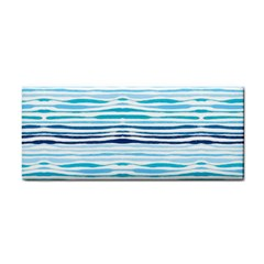 Watercolor Blue Abstract Summer Pattern Cosmetic Storage Cases by TastefulDesigns