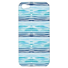 Watercolor Blue Abstract Summer Pattern Apple Iphone 5 Hardshell Case by TastefulDesigns