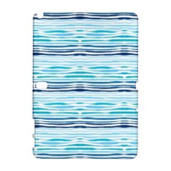 Watercolor Blue Abstract Summer Pattern Galaxy Note 1 by TastefulDesigns