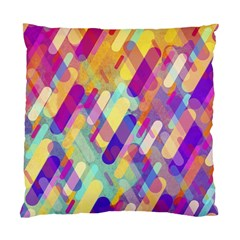 Colorful Abstract Background Standard Cushion Case (one Side) by TastefulDesigns