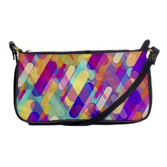 Colorful Abstract Background Shoulder Clutch Bags by TastefulDesigns