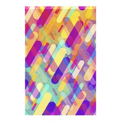 Colorful Abstract Background Shower Curtain 48  X 72  (small)  by TastefulDesigns