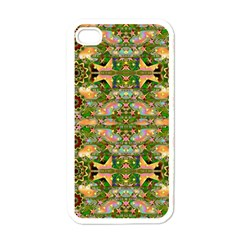 Star Shines On Earth For Peace In Colors Apple Iphone 4 Case (white) by pepitasart