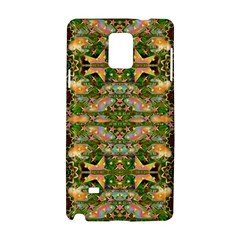 Star Shines On Earth For Peace In Colors Samsung Galaxy Note 4 Hardshell Case by pepitasart
