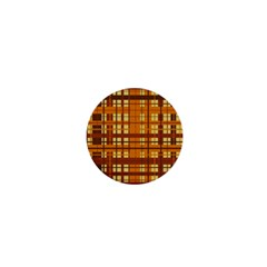 Plaid Pattern 1  Mini Buttons by linceazul