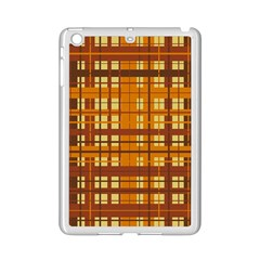 Plaid Pattern Ipad Mini 2 Enamel Coated Cases by linceazul