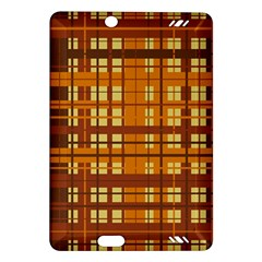 Plaid Pattern Amazon Kindle Fire Hd (2013) Hardshell Case by linceazul
