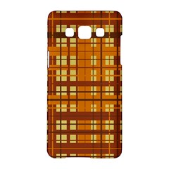 Plaid Pattern Samsung Galaxy A5 Hardshell Case  by linceazul