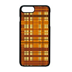 Plaid Pattern Apple Iphone 7 Plus Seamless Case (black) by linceazul