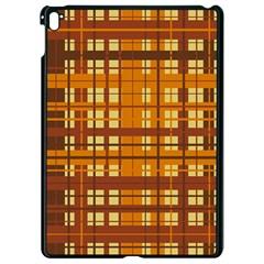 Plaid Pattern Apple Ipad Pro 9 7   Black Seamless Case by linceazul