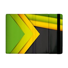 Abstraction Lines Stripes  Apple Ipad Mini Flip Case by amphoto