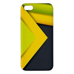 Abstraction Lines Stripes  Apple Iphone 5 Premium Hardshell Case by amphoto