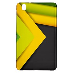 Abstraction Lines Stripes  Samsung Galaxy Tab Pro 8 4 Hardshell Case by amphoto