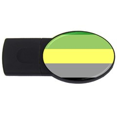Aro Usb Flash Drive Oval (2 Gb) by TailWags