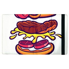 Burger Kill Apple Ipad Pro 12 9   Flip Case by quirogaart