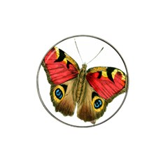 Butterfly Bright Vintage Drawing Hat Clip Ball Marker (10 Pack)