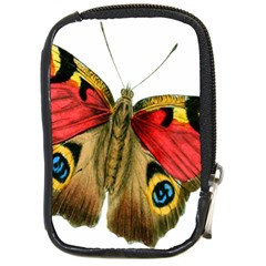 Butterfly Bright Vintage Drawing Compact Camera Cases by Nexatart