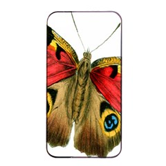Butterfly Bright Vintage Drawing Apple Iphone 4/4s Seamless Case (black) by Nexatart
