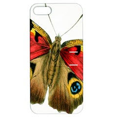 Butterfly Bright Vintage Drawing Apple Iphone 5 Hardshell Case With Stand