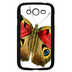 Butterfly Bright Vintage Drawing Samsung Galaxy Grand Duos I9082 Case (black)