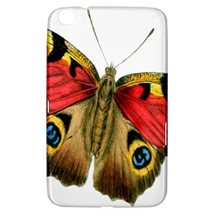 Butterfly Bright Vintage Drawing Samsung Galaxy Tab 3 (8 ) T3100 Hardshell Case