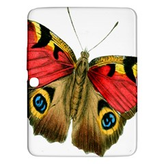 Butterfly Bright Vintage Drawing Samsung Galaxy Tab 3 (10 1 ) P5200 Hardshell Case
