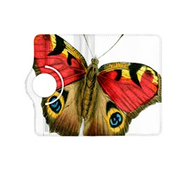 Butterfly Bright Vintage Drawing Kindle Fire Hd (2013) Flip 360 Case by Nexatart