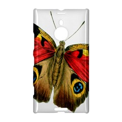 Butterfly Bright Vintage Drawing Nokia Lumia 1520 by Nexatart