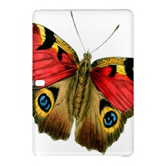 Butterfly Bright Vintage Drawing Samsung Galaxy Tab Pro 12 2 Hardshell Case by Nexatart