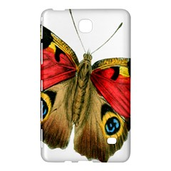 Butterfly Bright Vintage Drawing Samsung Galaxy Tab 4 (7 ) Hardshell Case  by Nexatart