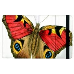 Butterfly Bright Vintage Drawing Apple Ipad Pro 12 9   Flip Case