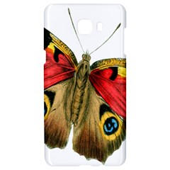 Butterfly Bright Vintage Drawing Samsung C9 Pro Hardshell Case  by Nexatart
