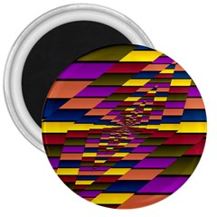 Autumn Check 3  Magnets