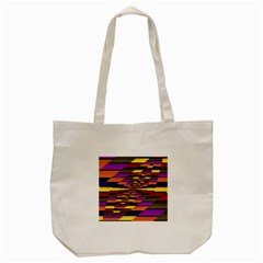 Autumn Check Tote Bag (cream) by designworld65