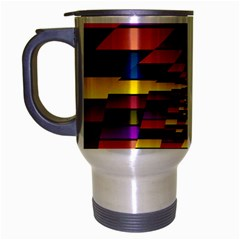 Autumn Check Travel Mug (silver Gray)