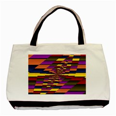 Autumn Check Basic Tote Bag (two Sides)