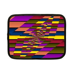 Autumn Check Netbook Case (small)  by designworld65