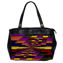 Autumn Check Office Handbags by designworld65