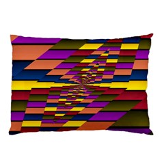 Autumn Check Pillow Case (two Sides)