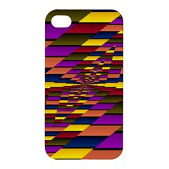 Autumn Check Apple Iphone 4/4s Hardshell Case by designworld65