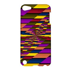 Autumn Check Apple Ipod Touch 5 Hardshell Case by designworld65